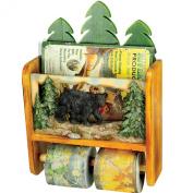 Bear Magazine Rack/Toilet Paper Holder