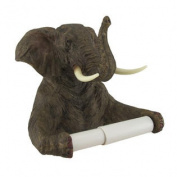 Trunk Up Elephant Bath Tissue Holder