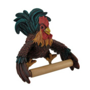 Rooster Shaped Hanging Single Roll Toilet Paper Holder