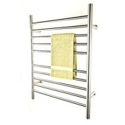 Radiant Plug-In Straight Towel Warmer Polished By Amba