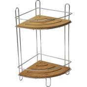 Free Standing Shower Corner Caddy Shelves/Chrome