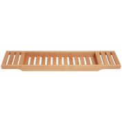 Bamboo Bathtub Caddy. Large Size Will Fit Most Tubs.