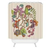 DENY Designs 180cm by 240cm Valentina Ramos Always Dream Big Shower Curtain, Extra Long