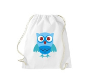 ShirtInStyle Gym Sack Gymnastics bag Cult bag Owls Owl