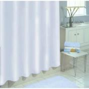 Ex-Cell 040O0-6001-100 Medium Weight PEVA Shower Curtain Liner, White, 180cm X 180cm
