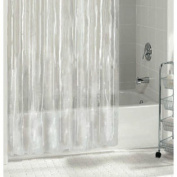 Ex-cell 040O0-6001-960 Medium Weight PEVA Shower Curtain Liner, Clear, 180cm X 180cm
