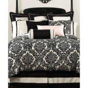 Waterford Bedding Lisette Black/Cream Standard Sham