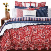 Ralph Lauren Villa Martine Floral Red Multi Duvet Cover, Twin
