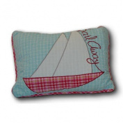 Island Paradise Decorative Cotton Shell Throw Pillow