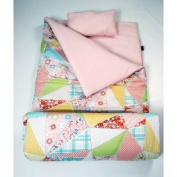 SoHo kids Camilla's Florets children sleeping slumber bag with pillow and carrying case lightweight foldable for sleep over