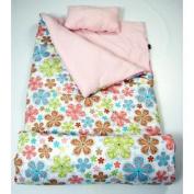 SoHo kids Autumn's Graden children sleeping slumber bag with pillow and carrying case lightweight foldable for sleep over