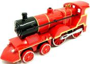 Steam Train Locomotive Train Die Cast Steam Train Toy Train with Sound & Light