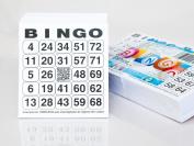 500 Bingo cards System 24 of 75