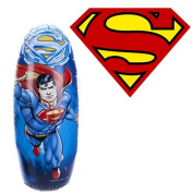 SUPERMAN 80CM BOP BAG PUNCH BOXING KIDS FUN GIFT TOY WEIGHTED INFLATABLE MOVIE