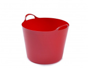 Red Flexible Tub 36cm x 30cm by Payless Trading®