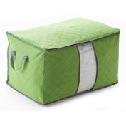 AllRight Clothes Storage Bags Laundry Bag Bedding Organiser Green