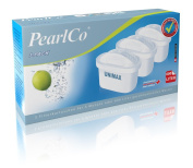 PearlCo = unimax = 3 Pack Water Filter Cartridges