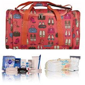 Pre-packed Essentials hospital bag/maternity/holdall/bag for Mum & Baby - coral shoes and bags - FREE NEXT DAY DELIVERY