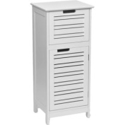 Bathroom Storage Floor Cabinet Miami White 80cm H X 37cm L