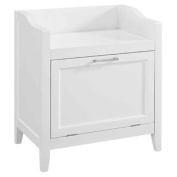 Storage Hamper Bench in White