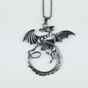 2015 New Arrival Jewelry High quality Song Of Ice And Fire Necklace Game Of Thrones Necklace Targaryen Dragon Badge Necklace