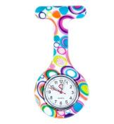 Multi Color Nurse Fob Watch