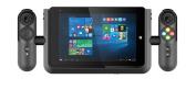 Linx Vision 20cm Tablet with Xbox Controller (Intel Atom x 5-Z8300, 2 GB RAM, 32 GB Storage, WLAN, BT, 2x Camera, Windows 10) - Black