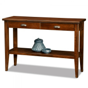 Laurent Two Drawer Storage Solid Wood Console Table