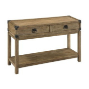 Carmel Natural Two Drawer Console Table