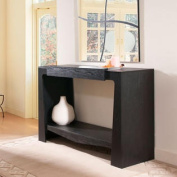 Ballinger Black Finish Modern Hallway Console Table