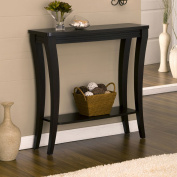 Brantly Cappuccino Finish Console Table