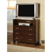 Tyler TV Console in Espresso by Acme Furniture