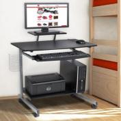 Computer Desk Cart PC Laptop Table Study Portable Workstation Student Dorm Home Office