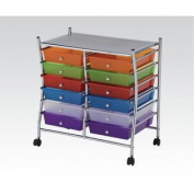 Storage Cart with 12 drawers by Acme Furniture