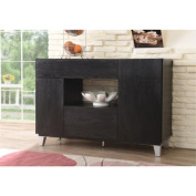 Clancy Sleek 3-Drawer Dining Buffet with Cabinet