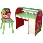Slight Edge 25cm W Writing Desk with Chair