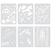 Artool Freehand Airbrush Templates, Template Set