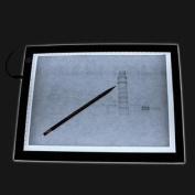 48cm LED Artist Stencil Board Tracing Table Light Box Pad