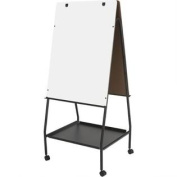 Double Sided Adjustable Mobile Easel 'Wheasel' Material