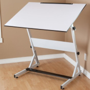 30 x 42 Martin MXZ Martin Drawing & Art Table in White