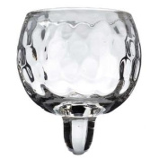 Clear Round Hammered Peg Votive Holder CupNew by