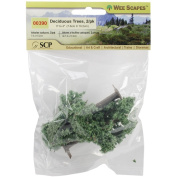 Light Green - Deciduous Trees 7.6cm & 10cm 2/Pkg