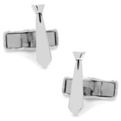 Ox and Bull OBS-TIE Sterling Tie Cufflinks