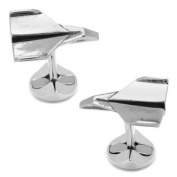 Ox and Bull OBS-ORIG-AP Sterling Paper Aeroplane Cufflinks