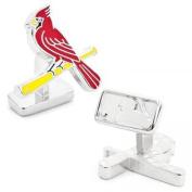 MLB PD-SLC-PP Palladium St. Louis Cardinals Cufflinks
