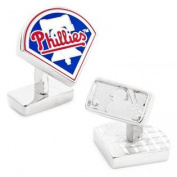 MLB PD-PHP-PP Palladium Philadelphia Phillies Cufflinks