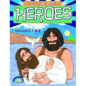 Legacy Press-Rainbow Publisher 121363 Favourite Bible Heroes - Grades 1-2