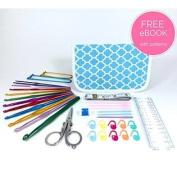 TenderHeart Shop Ultimate Crochet Kit, Blue