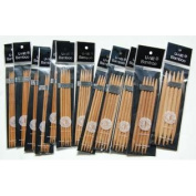 Bamboo Knitting Needles Double Point 13cm Sz 1-11