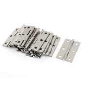 6 Mounting Holes Stainless Steel Butt Hinges 5.6cm Long 20 Pcs